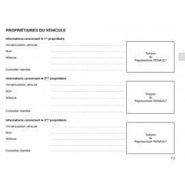 Renault Francuska Holenderska Książka Serwisowa
