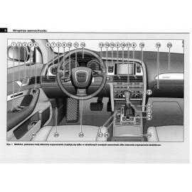 Audi A6 Sedan C6 2008-2011 Nowa Instrukcja Obsługi
