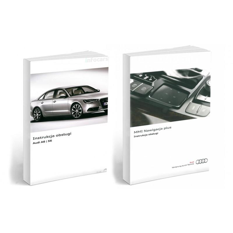 Audi A6 S6 od 2011+ Nawigacja MMI 3G Instrukcja
