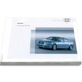 Audi A6 Sedan 04-08+ Nawigacja MMI Instrukcja Obsługi