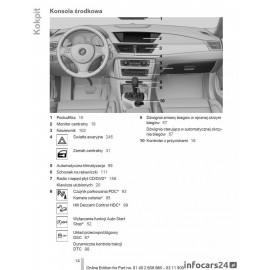 Bmw X1 E84 +Nawigacja Instrukcja Obsługi /2009/