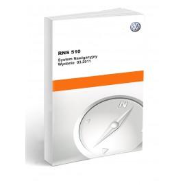 Vw Volkswagen Seat RNS 510 Nawigacja Instrukcja