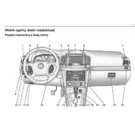 Chevrolet Captiva 11-14 +Nawigacja Instrukcja Obsługi