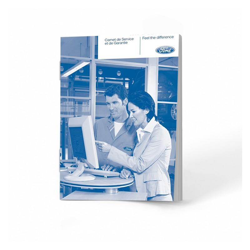 Ford Czysta Belgijska Książka Serwisowa 2008